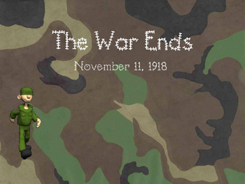 World War I Ends