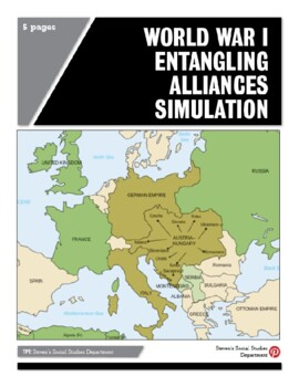 World War I Entangling Alliances Simulation