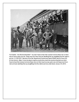 World War I Era Images and Primary Sources - The War to End All Wars
