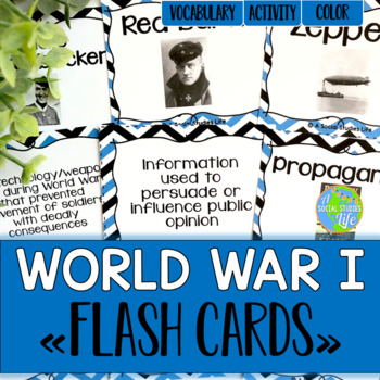 World War I Flash Cards