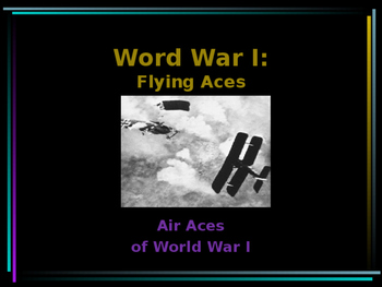 World War I - Flying Aces