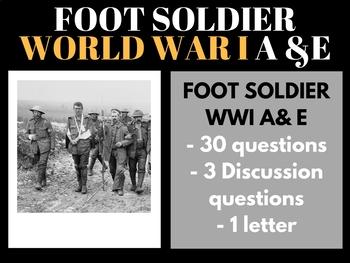 World War I Foot Soldier A & E Video Guide