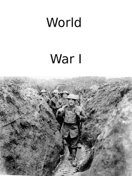 World War I Free Note Packet