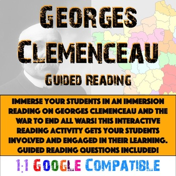 World War I - Georges Clemenceau Reading!