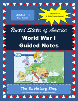 World War I Guided Notes