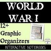 World War 1 Interactive Notebook Graphic Organizers for Wo