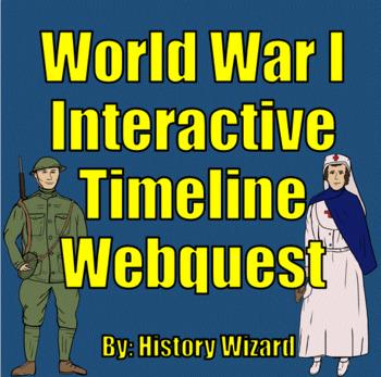 World War I Interactive Timeline Webquest (Great Website)