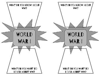 World War I Intro Warm Up