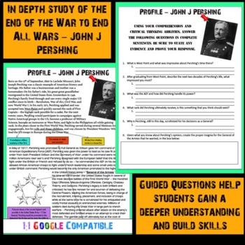 World War I - John J Pershing Reading!