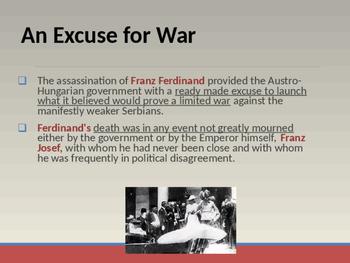 World War I - July Crises of 1914