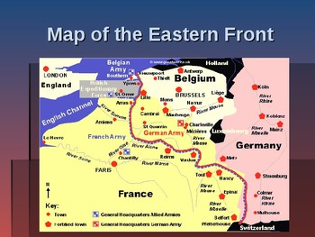 World War I - Key Battles of 1914