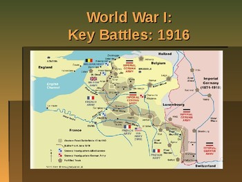 World War I - Key Battles of 1915