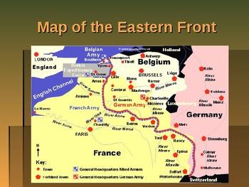 World War I - Key Battles of 1916