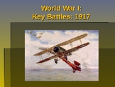 World War I - Key Battles of 1917