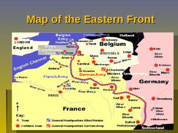 World War I - Key Battles of 1917 - Kerensky Offensive