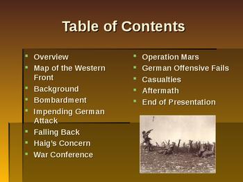 World War I - Key Battles of 1918 - Operation Michael
