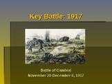 World War I - Key Battles of World War I - 1917 - Battle of Cambria