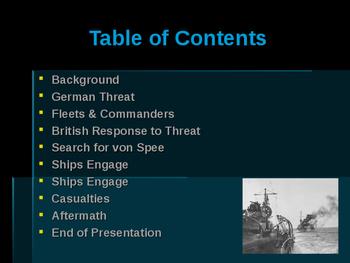 World War I - Key Naval Battles - Battle of Coronel