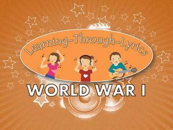 "World War I ""Learning Through Lyrics"" Lesson"