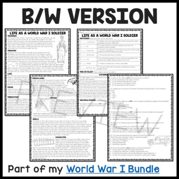 It is a graphic of Dashing Free Printable World War 1 Worksheets