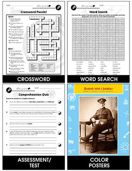 World War I: Major Battles Gr. 5-8