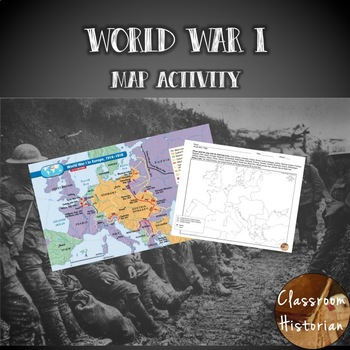 World War I Map Activity