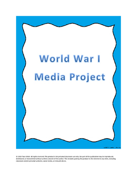 World War I Media Project