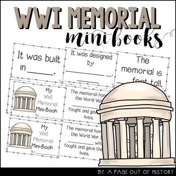 World War I Memorial Mini-Books