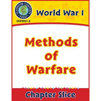 World War 1: Methods of Warfare Gr. 5-8