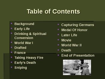 World War I - Military Leaders - Alvin C York