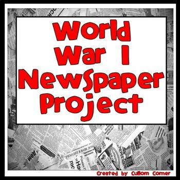 World War I Newspaper Project