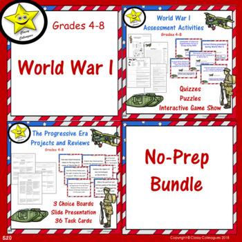 World War I No-Prep Bundle