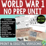 World War 1 Bundle, World War I, WW1, WWI