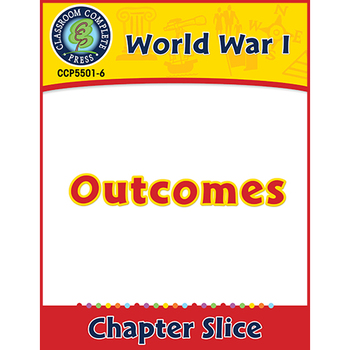 World War 1: Outcomes Gr. 5-8