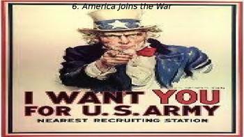 World War I, Part II: America Enters the War, Versailles, Influenza 1918
