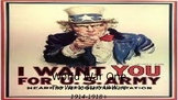World War I, Part II: America Enters the War, Versailles,