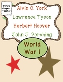 World War I: Pershing, York, Tyson, and Hoover