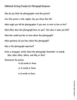 World War I Photo Analysis