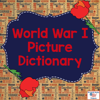 World War I Picture Dictionary