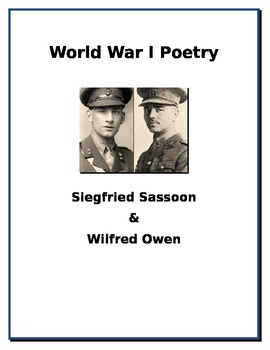 World War I Poetry - Siegfried Sassoon and Wilfried Owen