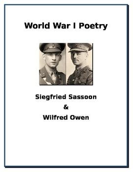 World War I Poetry - Siegfried Sassoon and Wilfried Owen