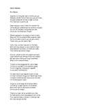 World War I Poetry of Wilfred Owen--Poems and Analysis