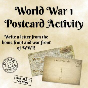 World War I Postcard Activity