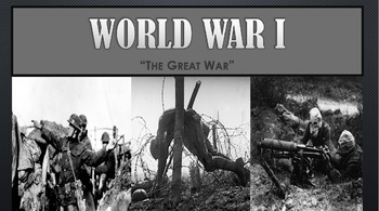 World War I PowerPoint