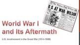 World War I PowerPoint - APUSH New Framework - Period 7