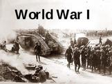 World War I PowerPoint - U.S. History