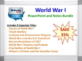World War I PowerPoint and Notes Bundle