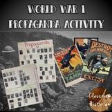 World War I Propaganda Activity