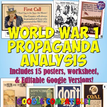 World War 1 Propaganda Analysis