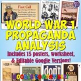 World War 1 Propaganda Analysis